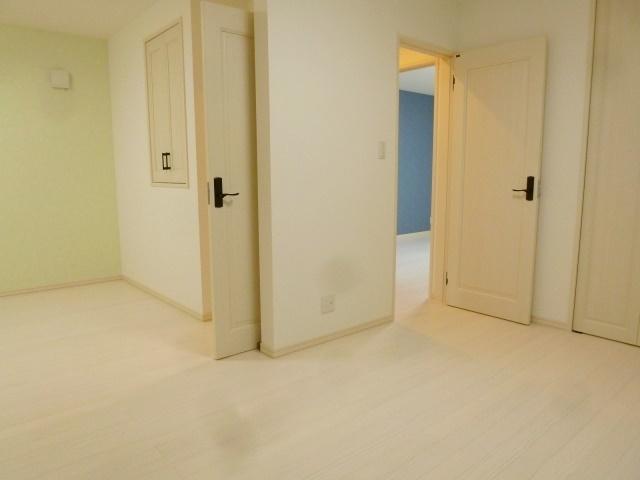 2部屋が繋がる空間は家族の成長に合わせてお使い頂けます。