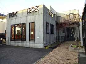 【外観写真】 千歳市幸福の中古戸建です。鉄筋コンクリート造、コンクリート打ちっ放しのお洒落な外観です。