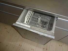 千歳市幸福の中古戸建です。食器洗浄機です。