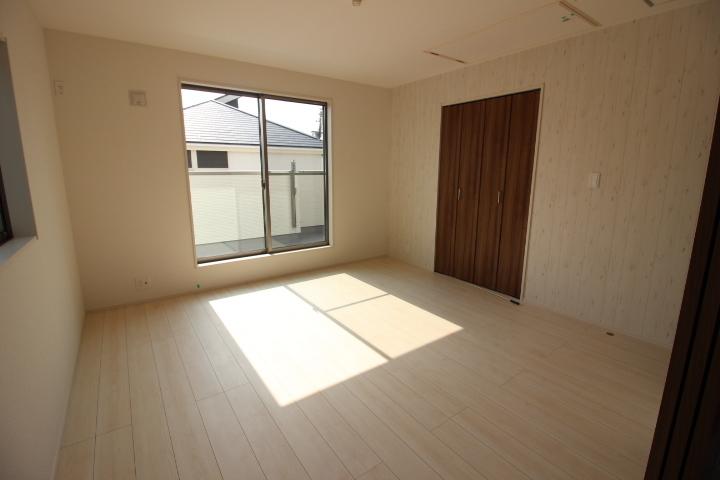 全居室収納つき! お部屋がスッキリ片付きます。