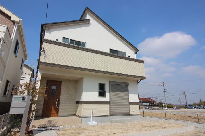 【外観写真】 青海町 新築戸建 5号棟4LDK+納戸 駐車スペース2台分