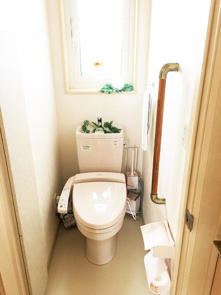 トイレ♪てすり付き♪バリアフリー♪