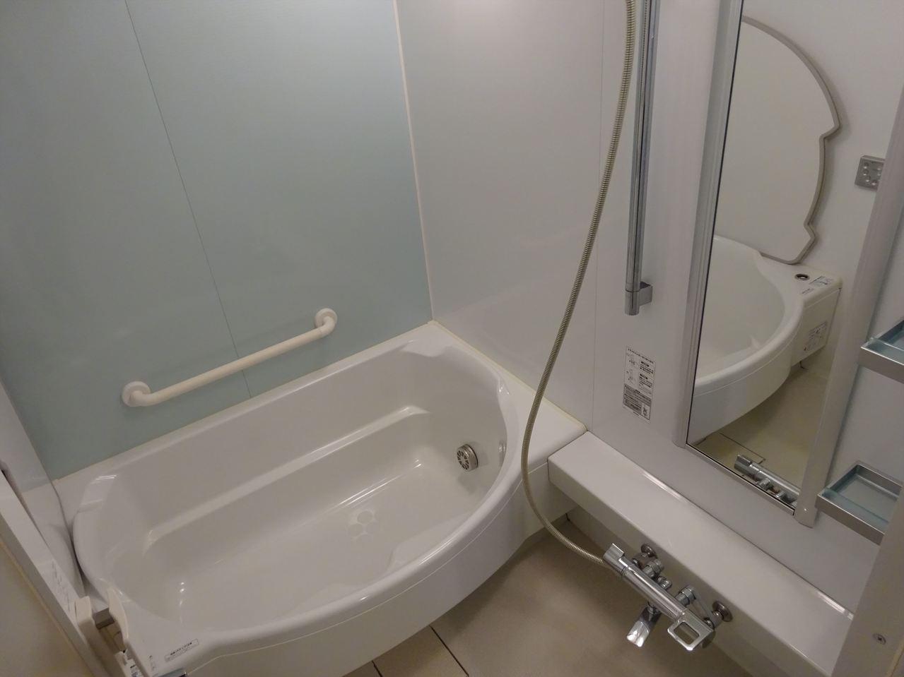 清潔感のあるお風呂。 綺麗なお風呂で毎日の疲れをほっと癒してくださいね♪