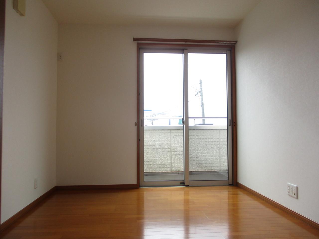 各部屋、独立感をもたせた洋室
