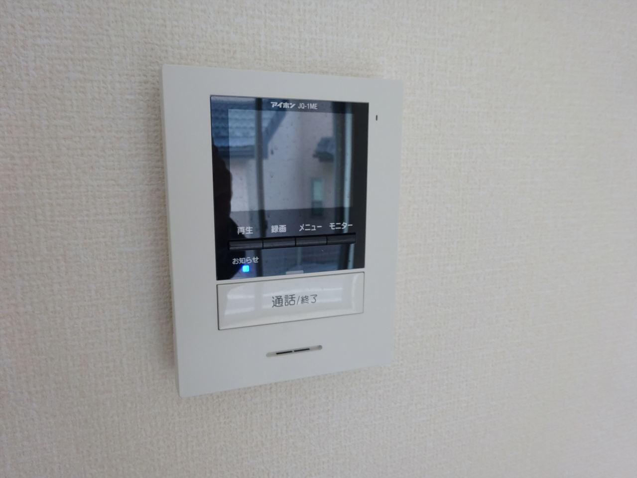 TVモニターインターフォン付。お子様のお留守番も安心の設備です♪