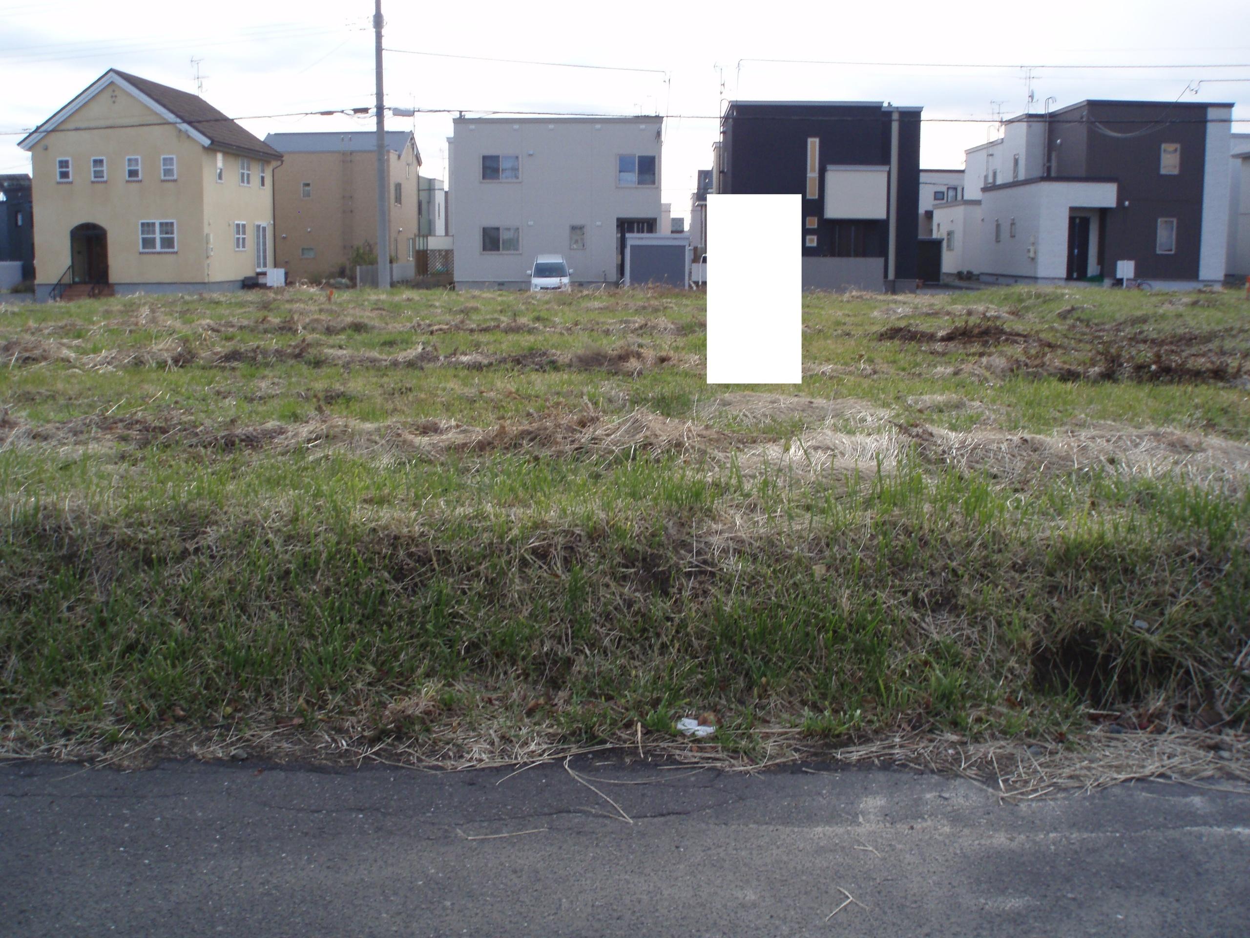 【外観写真】 江別市あさひが丘の、売土地です
