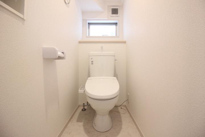 トイレは1階2階にあります。