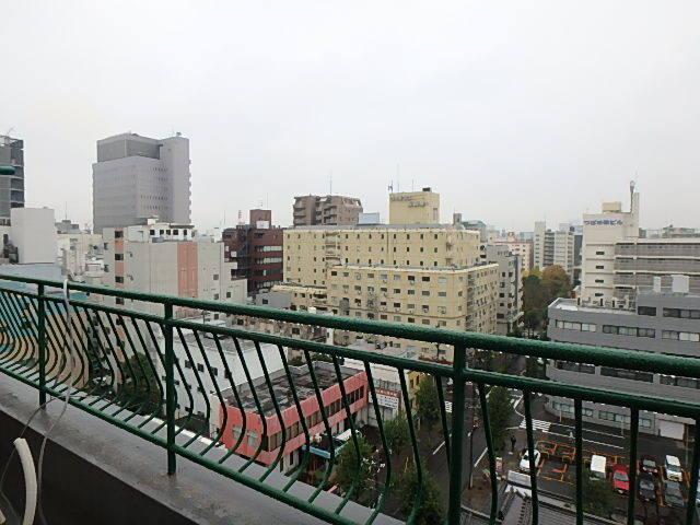 最上階、11階からの眺望