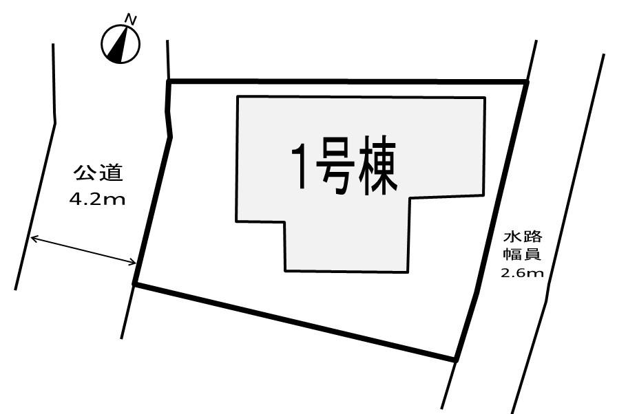 新築分譲 伊奈町大針全1棟です。