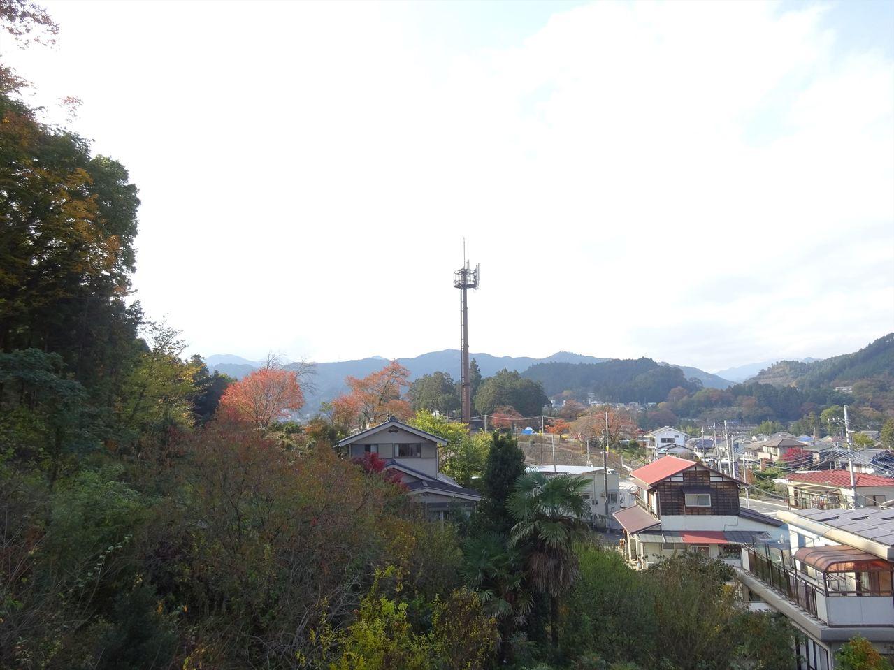 自然環境豊か♪この眺望を毎日見ることができますよ!おいしい空気で心もリフレッシュ!