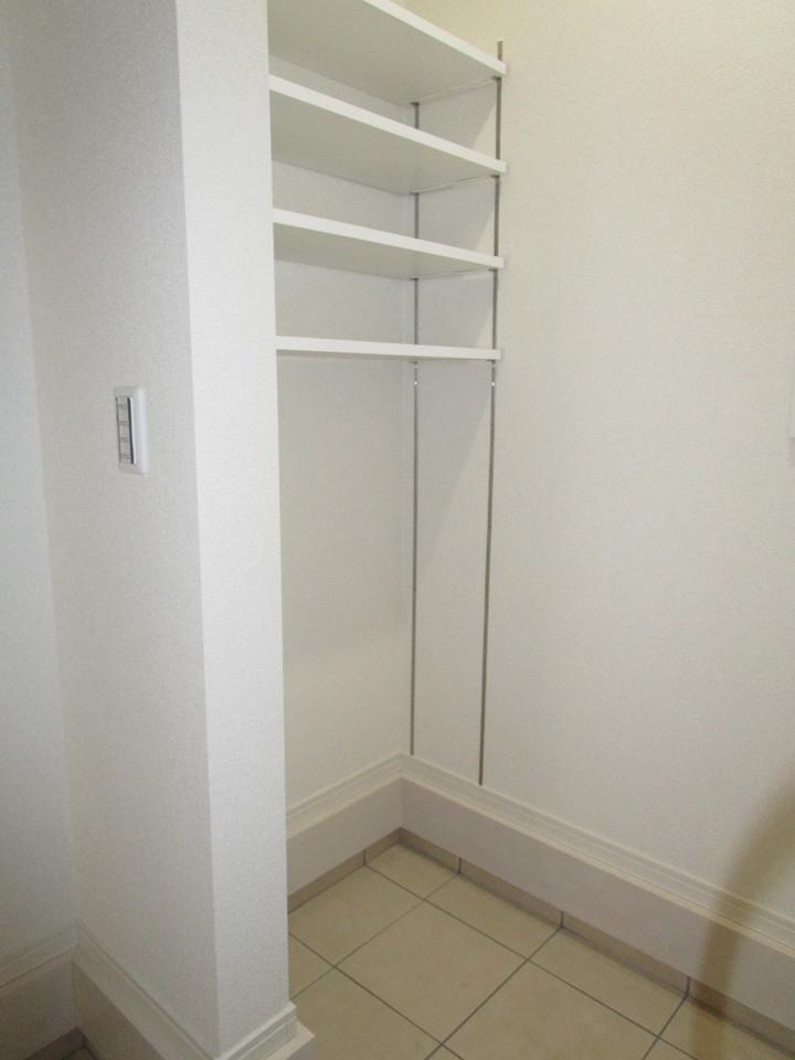 全居室収納スペースあり!荷物が多くても十分におさまります