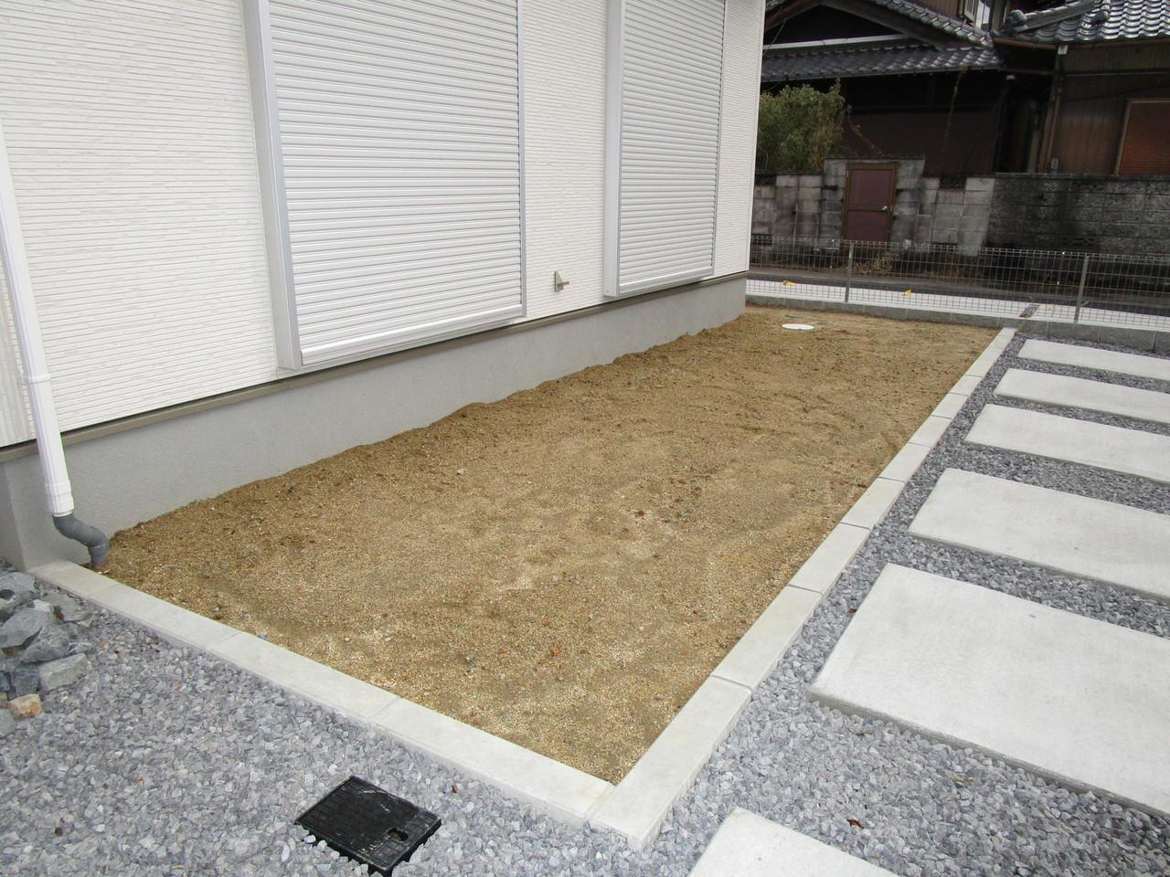【同社施工例】ガーデニングが楽しめる専用庭付き