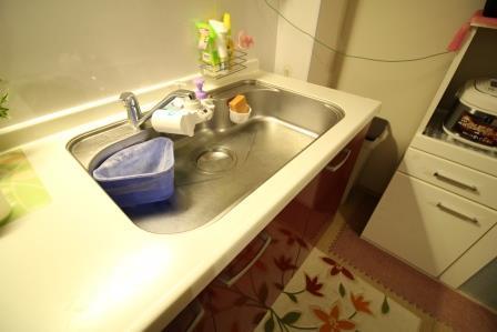 ☆水栓☆ 広々で洗い物も楽チンです♪
