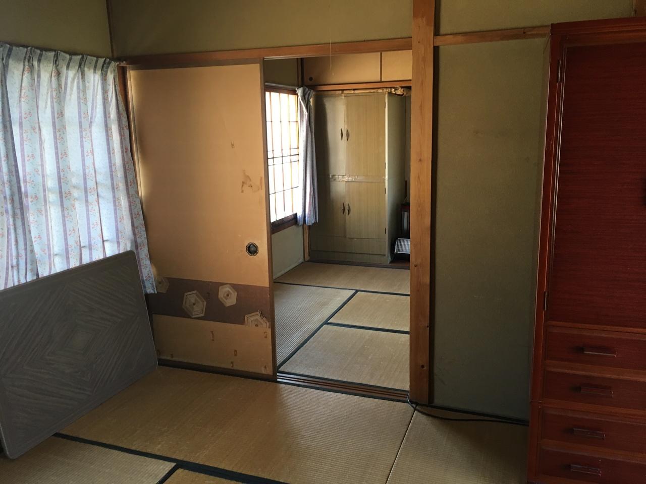 増築部分の和室です。あまり使用されなかったとの事で状態はいいです。