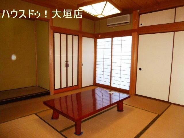 客間としてお使い頂ける和室。心が落ち着きますね。