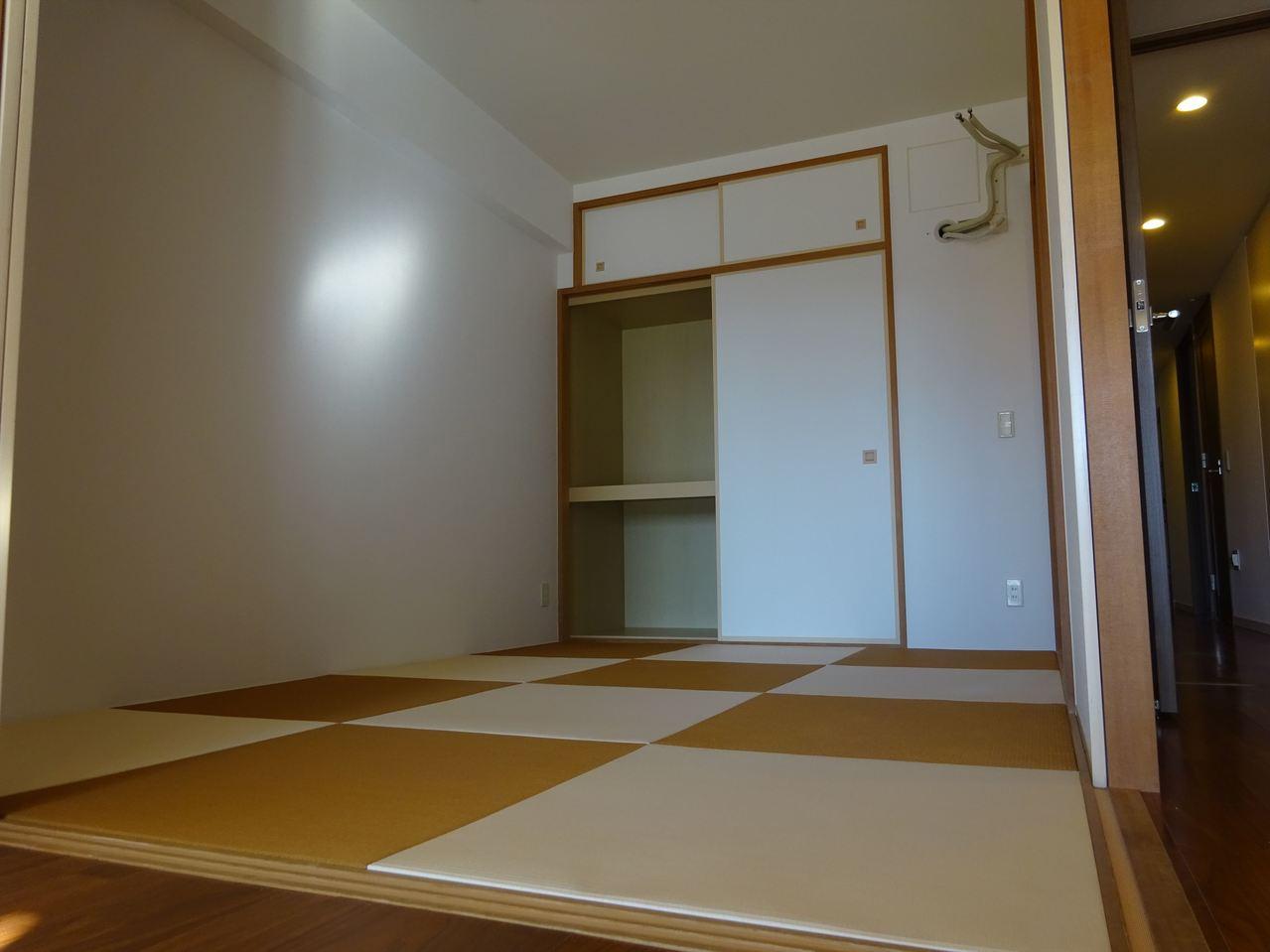 琉球畳のおしゃれな和室