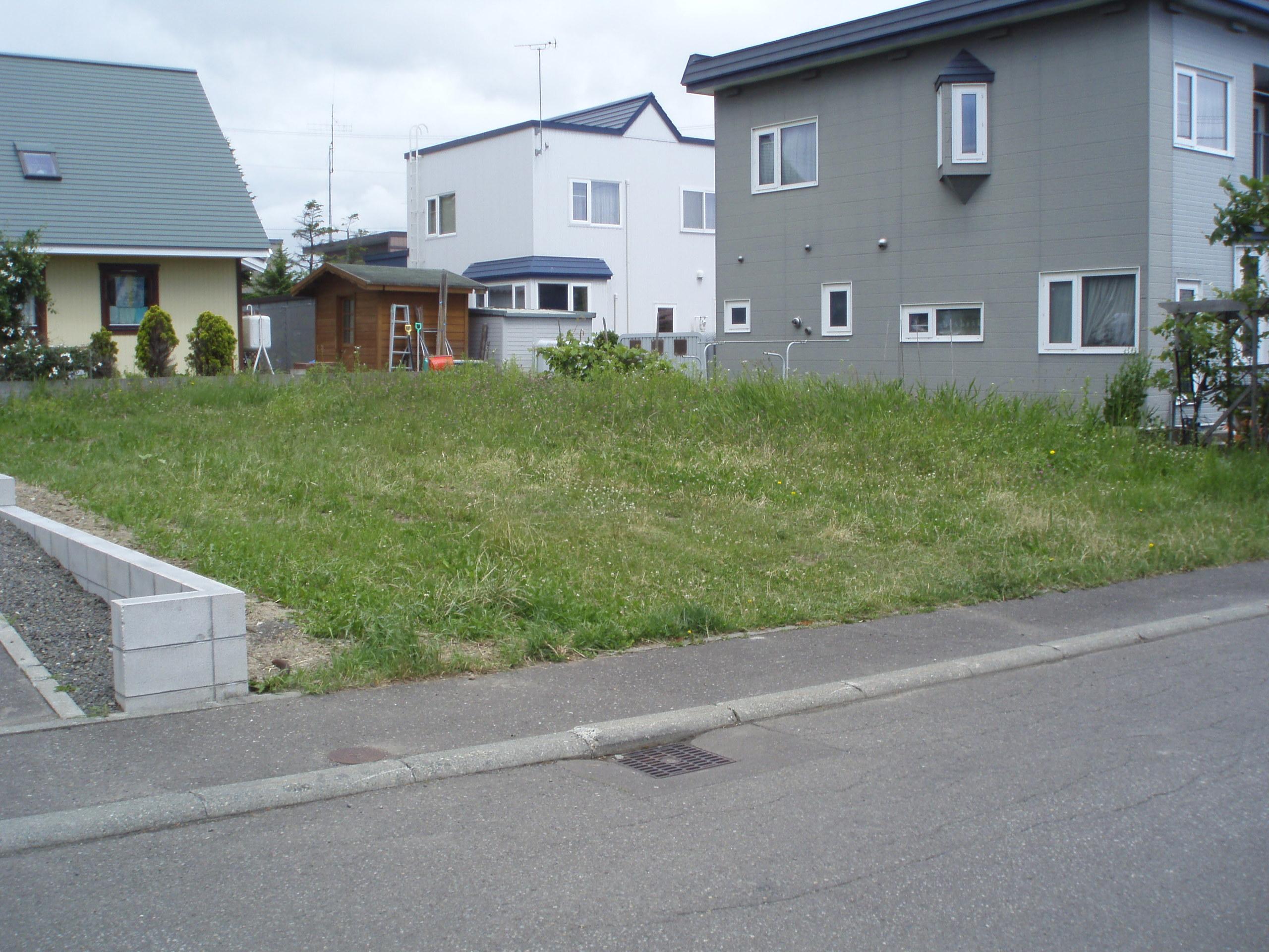 【外観写真】 江別市野幌若葉町の、売土地です