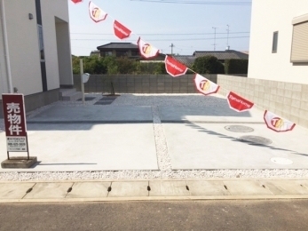 駐車4台可!家族一人1台駐車可能、嬉しい来客用の駐車スペース
