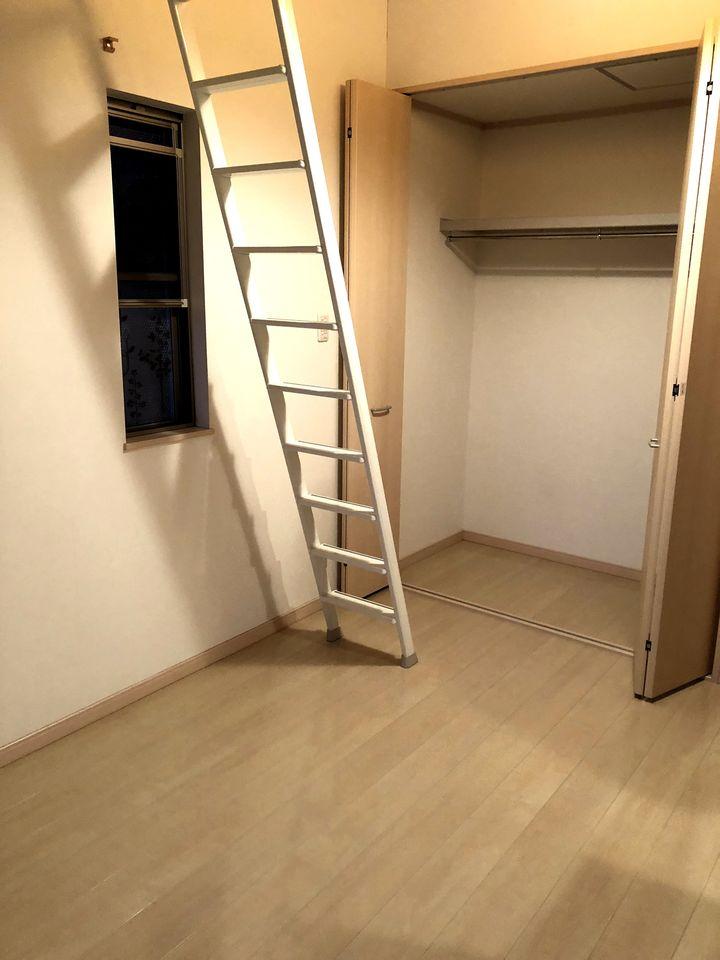 大容量のクローゼットを全室に設置。 収納力を重視されるお客様にもきっと ご満足頂けます!!