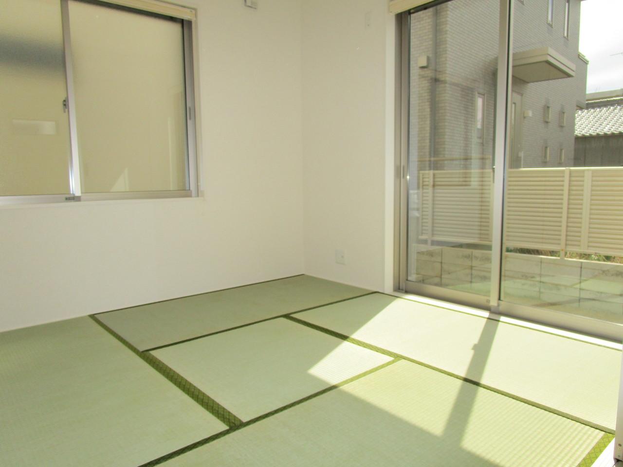 【同社施工例】いぐさの香る和室でリラックスした毎日を情緒漂うくつろぎの和室でお過ごしください
