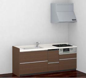 食洗機付き・3口ガスコンロのキッチンです