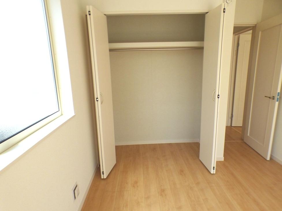 ◎収納:1号棟(4/8撮影) 全居室収納付!たっぷりの収納スペースで快適に暮らせそうです