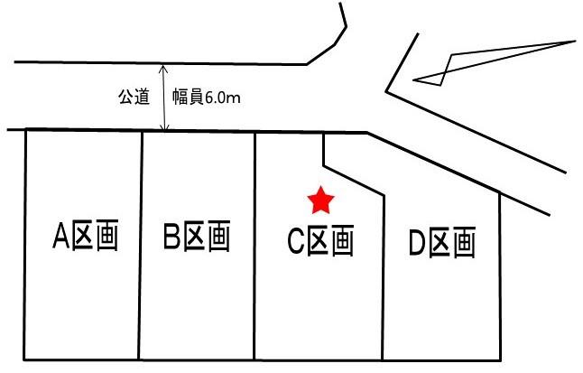 【区画図】 JR宇都宮線、東武日光線「栗橋」駅徒歩5分、2路線利用で通勤、通学が便利です。