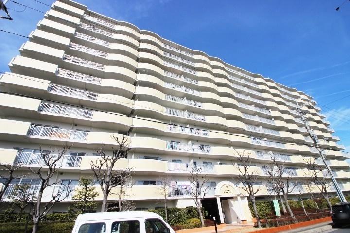 【外観写真】 4LDK・ペット飼育可(規約有)・13階建て5階・南西向きバルコニー♪