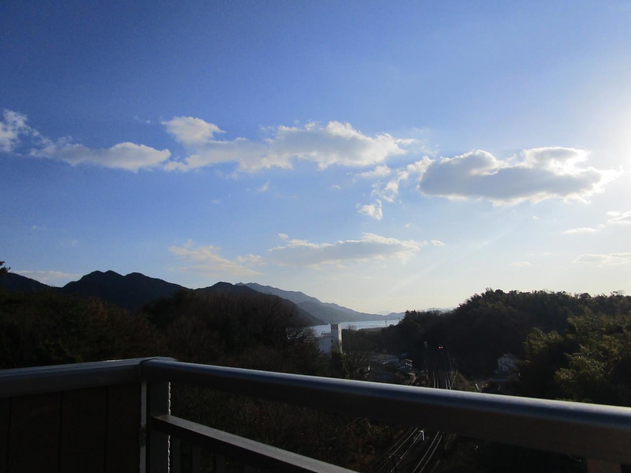 屋上ルーフバルコニーからの眺望です
