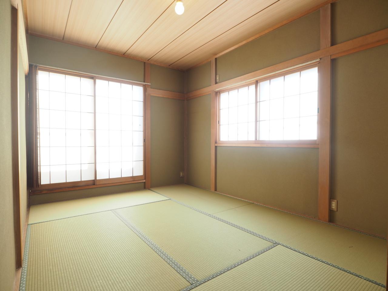 全室南向き設計の明るい室内