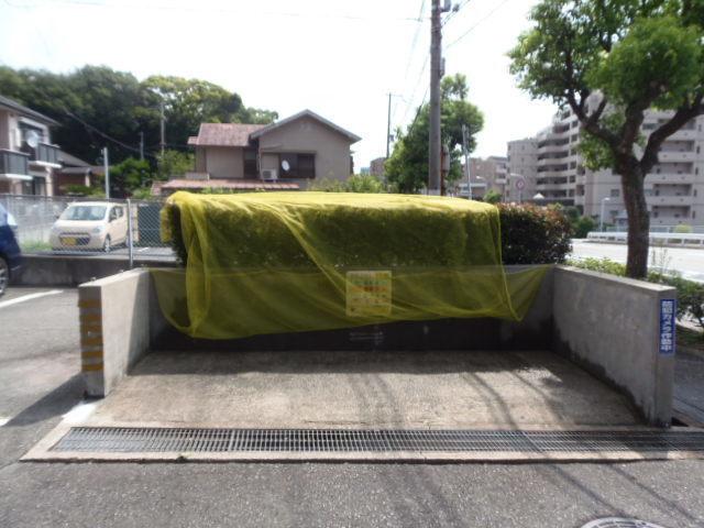 2017/8/18撮影 ゴミステーション