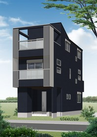 【外観写真】 江戸川区東小岩5丁目の新築戸建です。