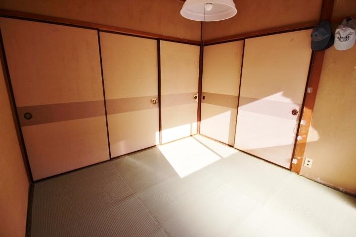 和室が3部屋 洋室が2部屋の5DKの間取りです。