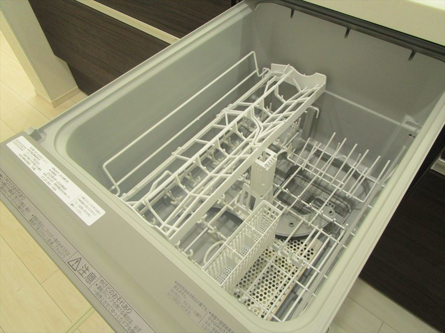 食洗機完備。家事の時短に大活躍します。