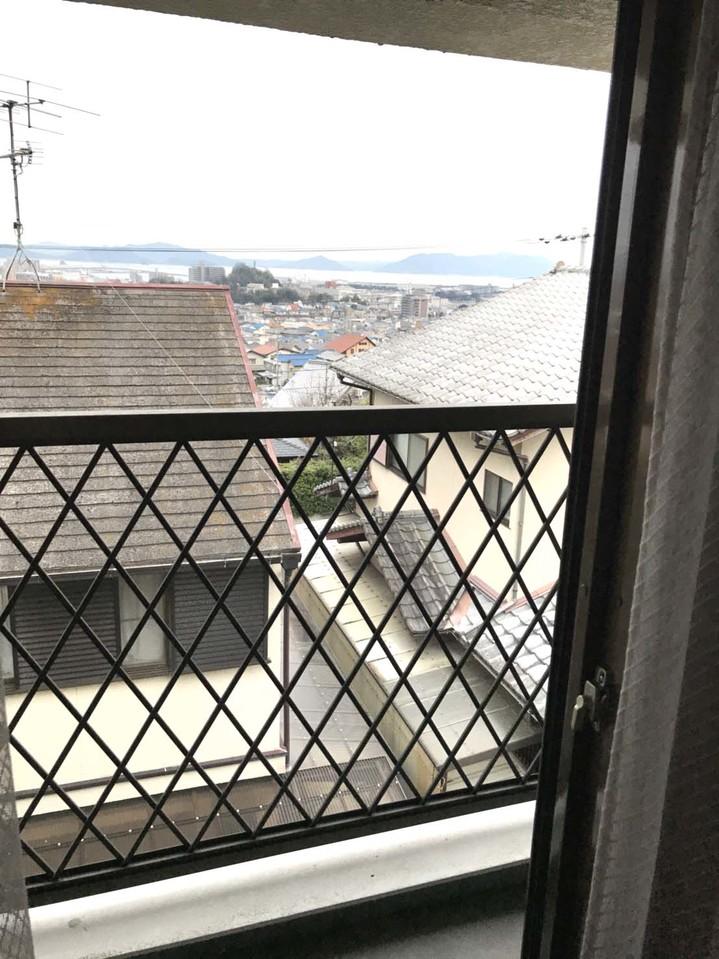 2階バルコニーからの眺望です