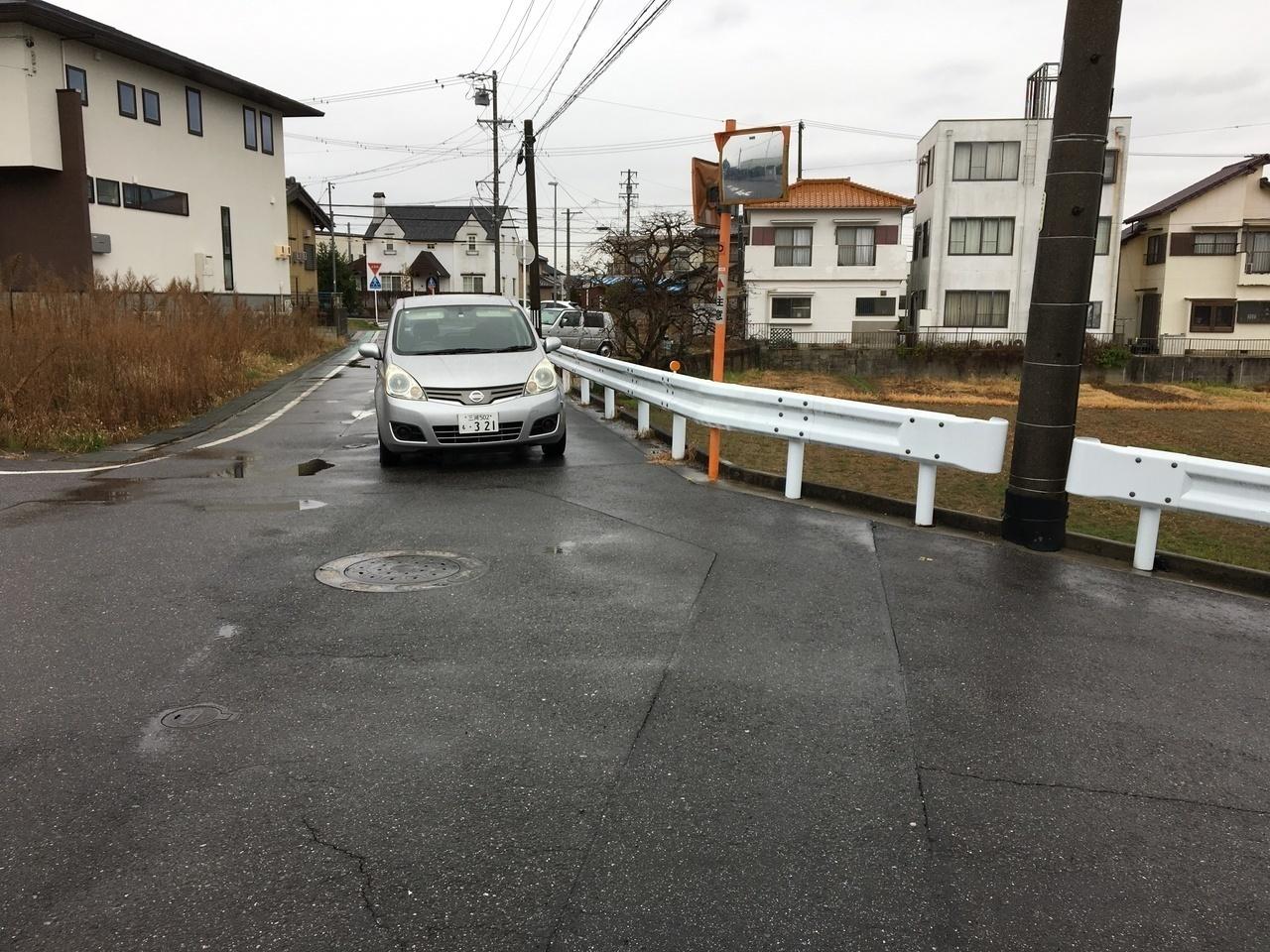 ★前面道路★
