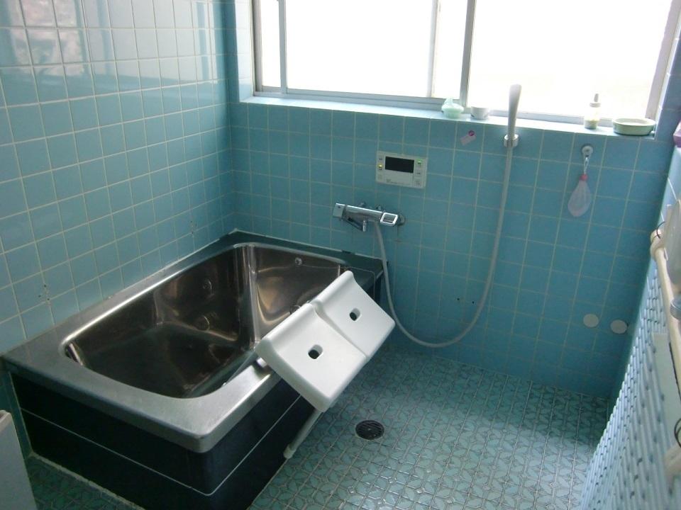 浴室はひろびろ1坪!!