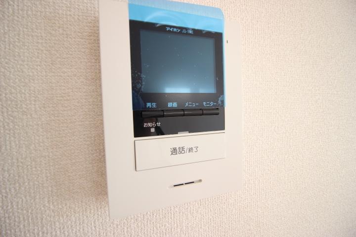 来客者を確認できるTVモニタ付インタホン