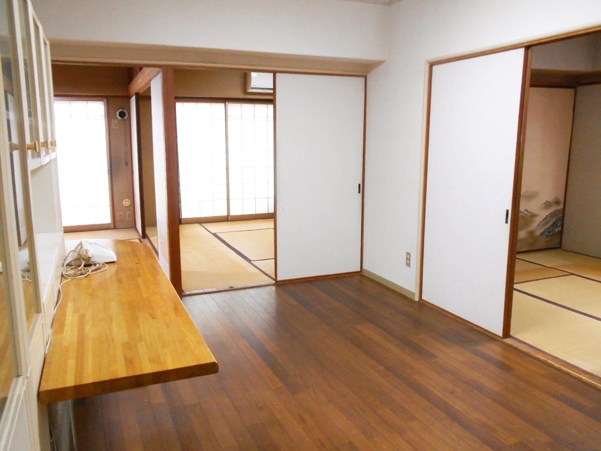 門司区高田スカイハイツ♪陽当たり良好♪角部屋・システムキッチン♪最上階♪