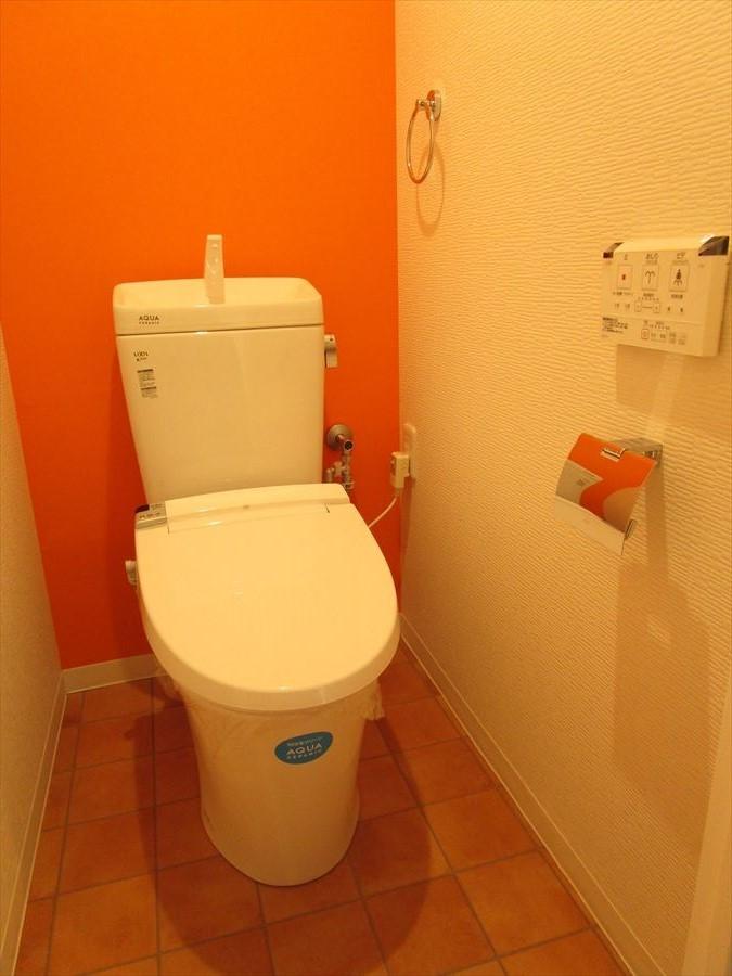 便利な洗浄便座できれいさっぱり!