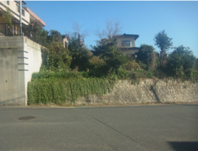 【外観写真】 小倉南区葛原本町3丁目♪売土地♪土地広々96坪!高低差あり