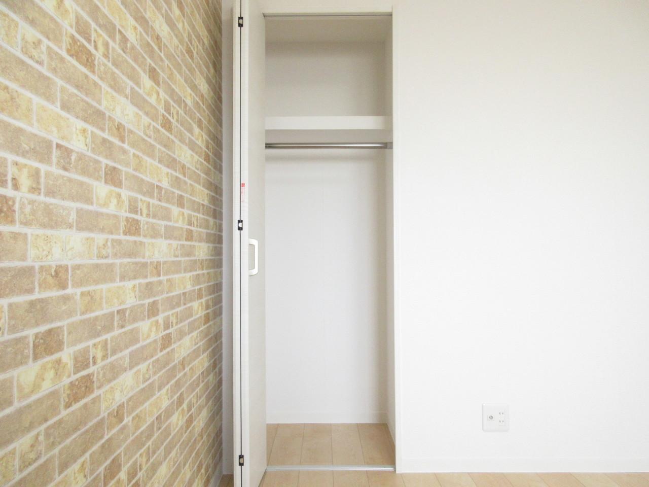 収納スペースもありますのでお部屋をスッキリとお使いいただけます◎