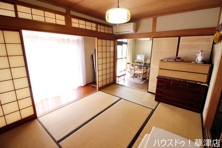 和室は、来客用和室、お子様の遊び場、お昼寝場所と多目的にお使い頂けます!