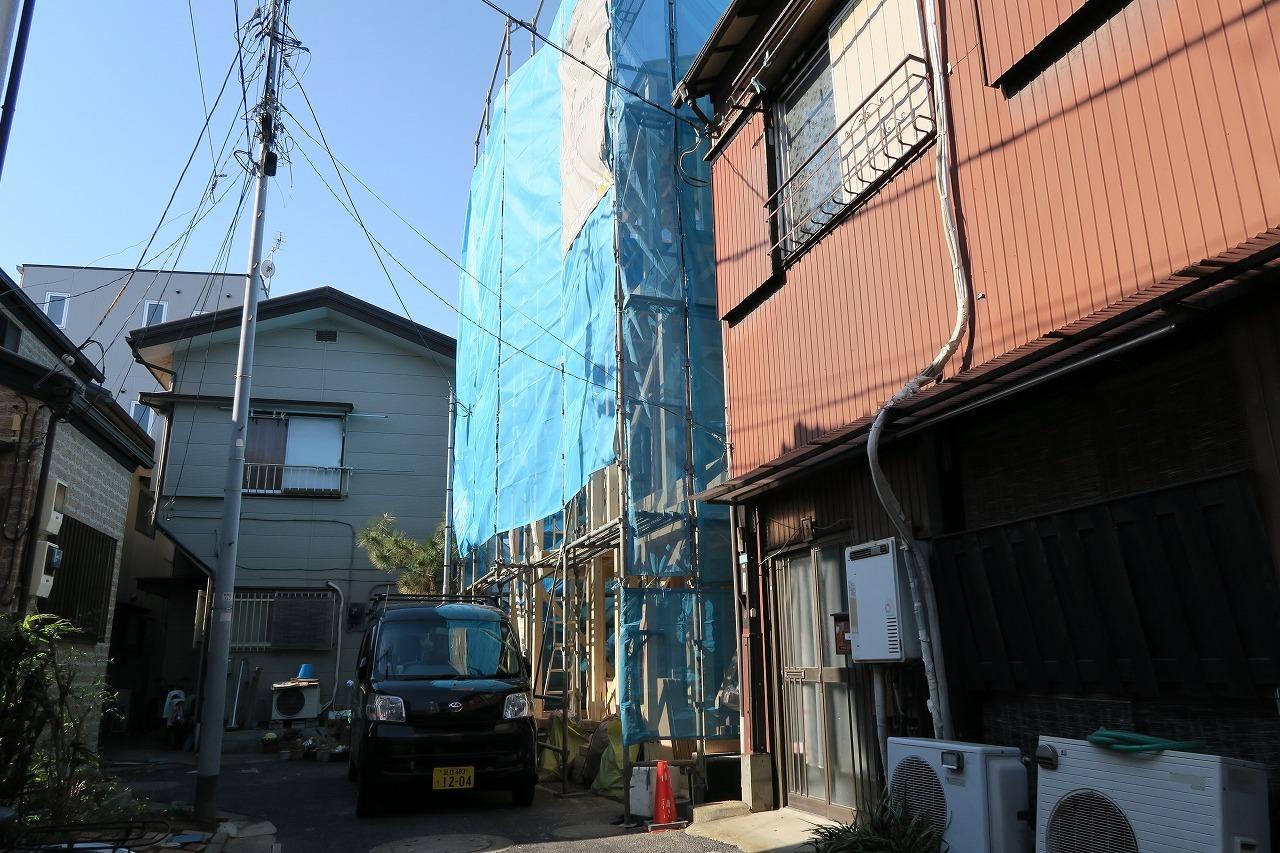 【外観写真】 江戸川区北小岩5丁目の新築戸建物件です。