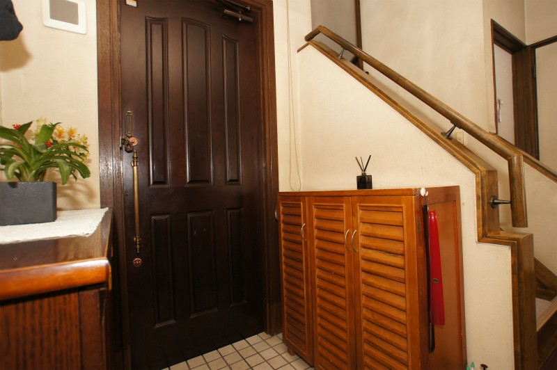 玄関(内側から撮影)
