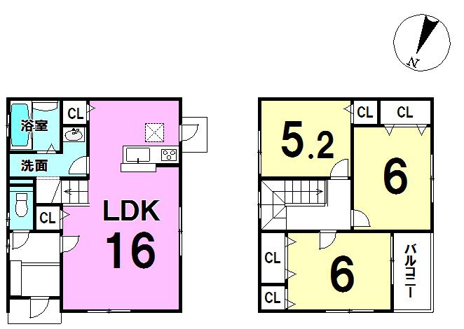 【間取り】 3LDK(118.83㎡)