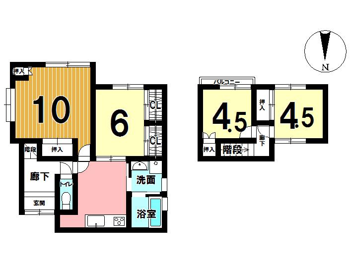 【間取り】 2018年4月 内装一部、外装 一部リフォームいたします! キッチン、浴室、トイレもリフォーム♪ お問い合わせは 097-529-5100まで♪