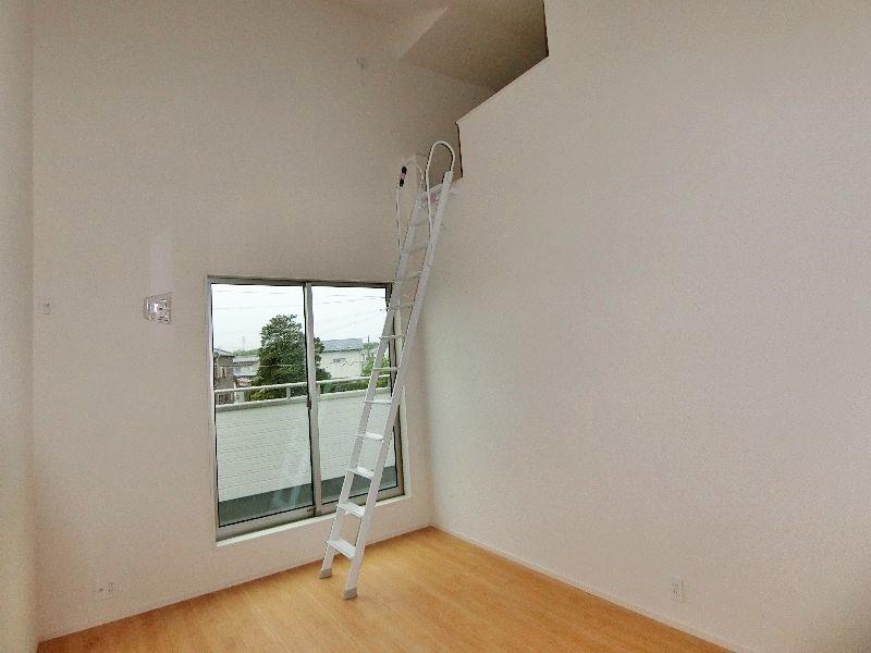 2階ロフトです。