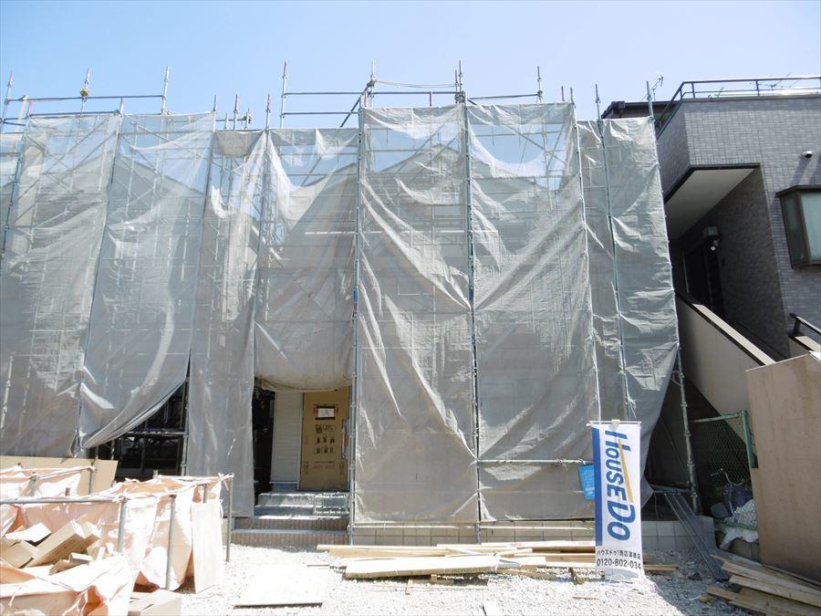 【外観写真】 全3区画の新築分譲住宅。星崎小学校まで約350mと近くお子様の通学も安心です。