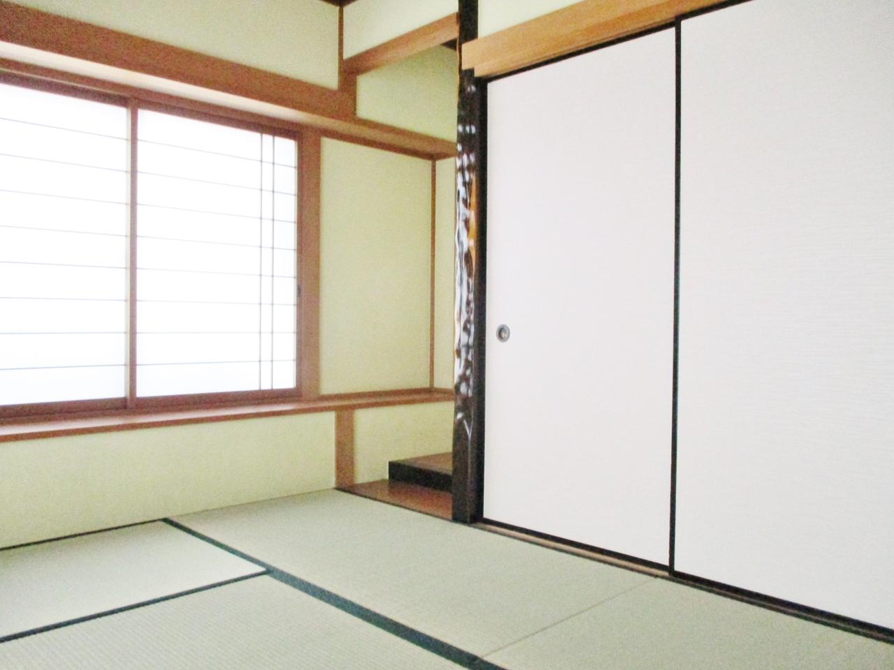 リビングにつながる和室は万能スペースとしてお使いいただけます